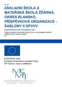 Projekt ŠABLONY II OPVVV